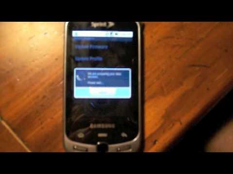 Steps to replicate Samsung Moment EVDO data lockups