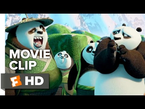 Kung Fu Panda 3 Movie CLIP - Secret Panda Village (2016) - Animated Movie HD
