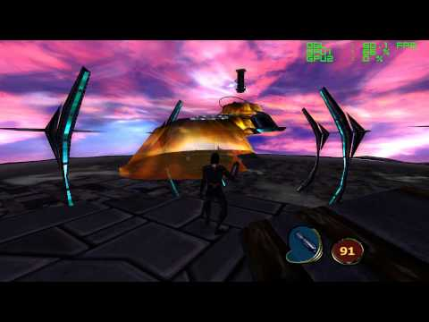 MDK 2 HD - PC Gameplay - FRAPS recorded in HD 1080P