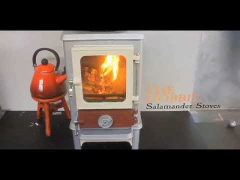 Salamander Stoves - the home of the Hobbit Small Stove - Salamander Stoves - The Home Of The Hobbit Small Stove - YouTube