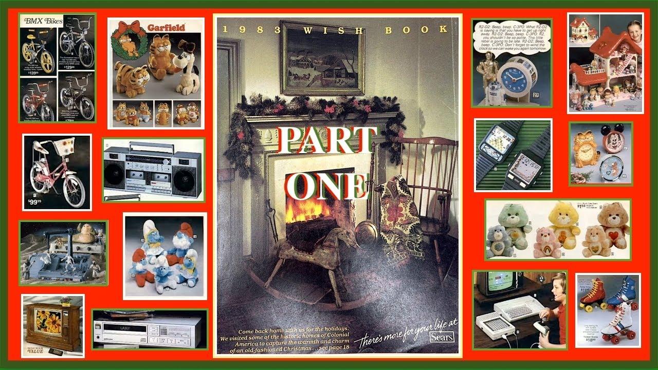 4523823ca Sears 1983 Christmas Wish Book Part 1 - YouTube