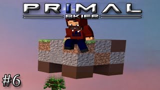 Primal Skies 1 12+ Minecraft - Ep  1 - Charcoal and Lighting Things