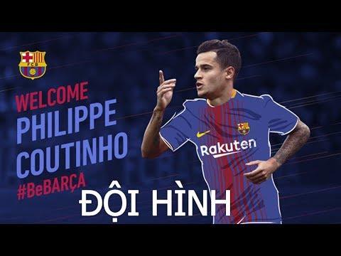 Đội hình Barca như thế nào khi có Coutinho ?