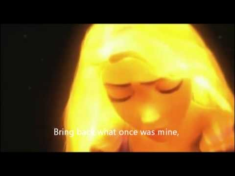 tangled (song to make her hair glow)