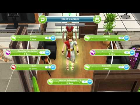 Teen Idol Fan Interactions- Sims Freeplay