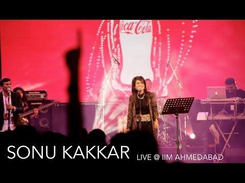 Sonu Kakkar - Live Performance At IIM AHMEDABAD (Coke Studio)