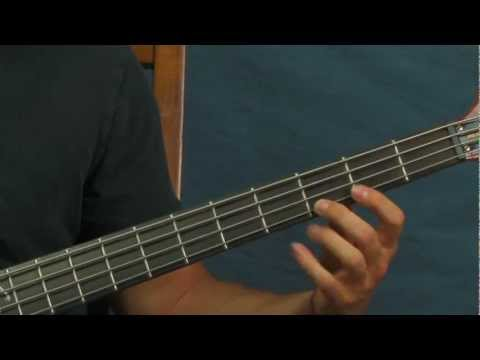 free bass guitar lesson we gotta get out of this place got to the ...