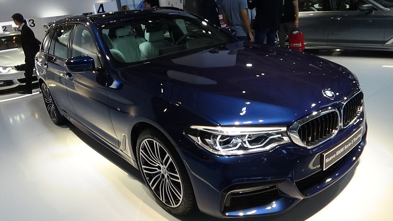 2018 bmw 520d touring exterior and interior automobile barcelona 2017 youtube. Black Bedroom Furniture Sets. Home Design Ideas