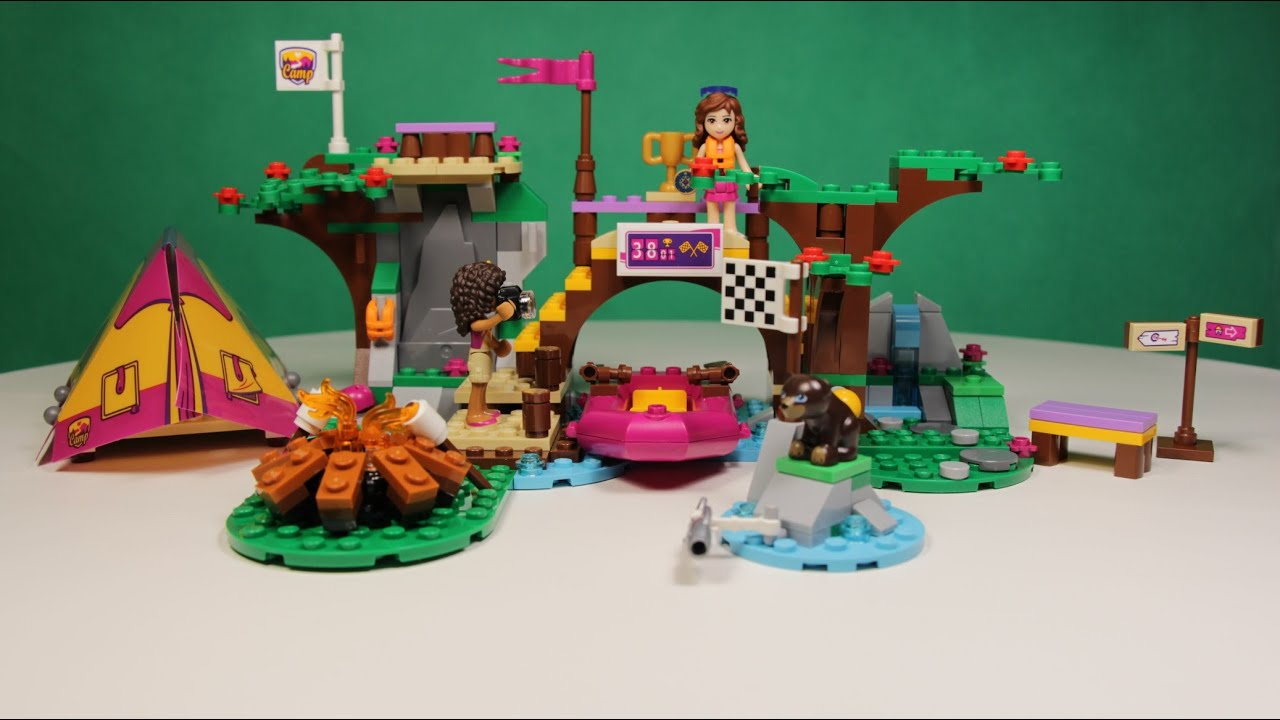 Lego Friends Adventure Camp Rafting Instructions