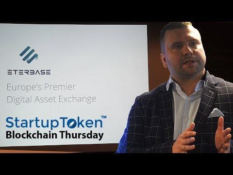 [Blockchain Thursday by StartupToken] ETERBASE