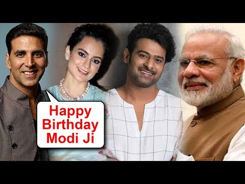 Kangana Ranaut, Akshay Kumar, Prabhas   Bollywood Stars Birthday Wishes For Narendra Modi Mp3
