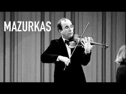 """H. Wieniawski - 2 Mazurkas, Op. 19 """"Obertass"""" and """"Dudziarz"""" - Levon Ambartsumian"""