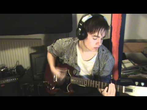 3OH!3 - My First Kiss (feat. Ke$ha) Guitar cover