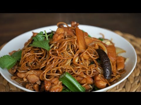 Stir Fry Chicken Noodles - Chow Mein - Morgane Recipes