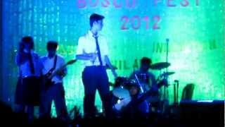 SPHS School Fusion Band @bosco fusion 2012- Teri Deewani- Kailash Kher (cover)