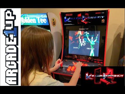 Killer Instinct Arcade1up Preview from Kelsalls Arcade