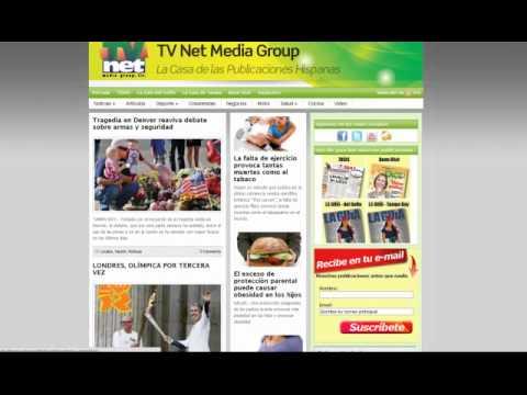 Instrucciones de uso del portal de TV Net