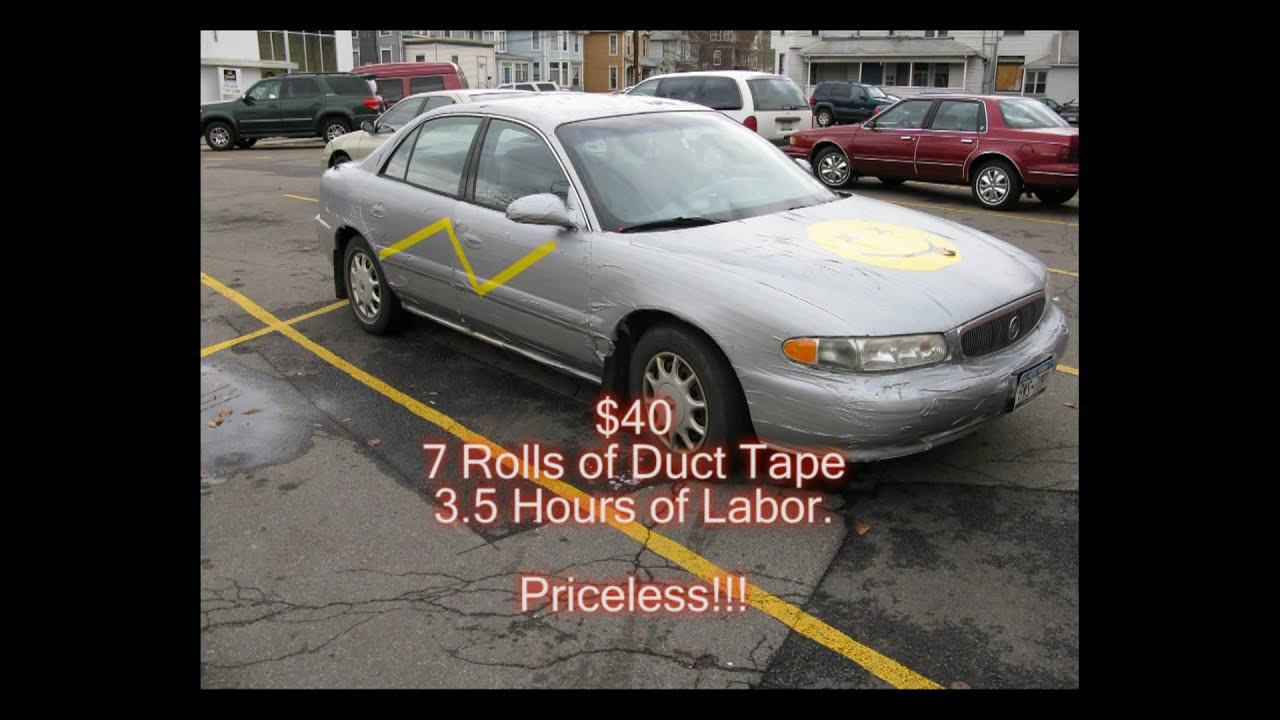 The Duct Tape Car