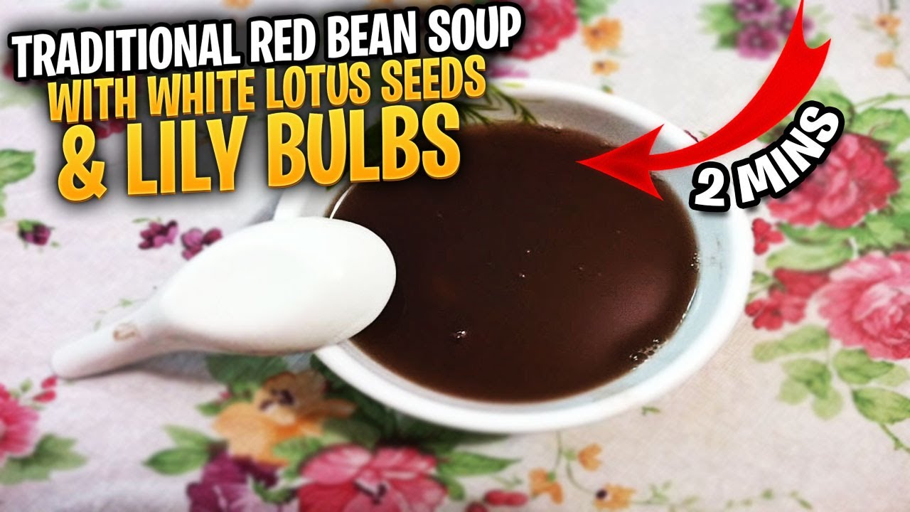 how to cook lotus seed soup