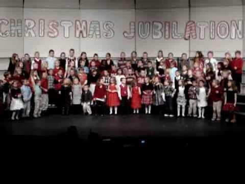 """Ed White Kindergarten """"Christmas Jubilation"""" 2010"""