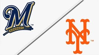 Milwakee Brewers vs New York Mets | Full Game Highlights | 4/15/18