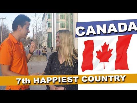 Why Are Canadians So Happy? (Halifax, Nova Scotia) Canada #1