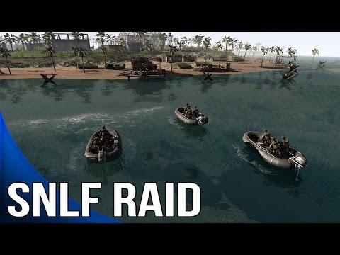 Men of War Assault Squad 2 - SNLF Raid - Airborne DLC w/ Shermanator