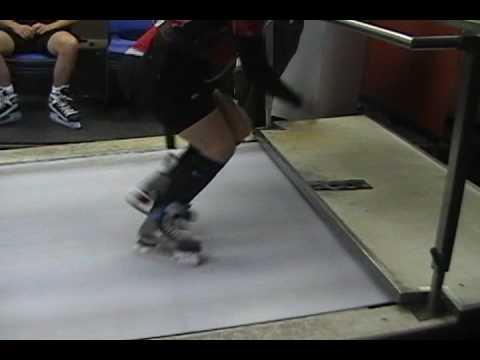 The Skating Treadmill at the Fast Ottawa Sports Training Centre
