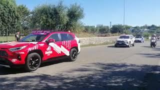 Il passaggio del Giro d'Italia a Bisceglie 10.10.20 - Video Stefano Napoletano