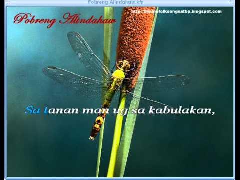 Pobreng Alindahaw - Visayan Folk Song (Videoke/Karaoke)