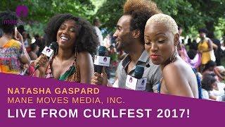 LIVE: Curlfest 2017 with Natasha of Mane Moves Media
