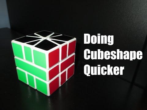Square-1 Advanced Cubeshape Tutorial