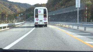 高山清見道路 高山IC→東海北陸自動車道 ひるがの高原SA
