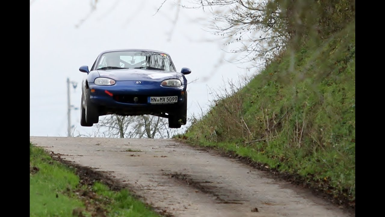 Rallye Mx5 Miata Big Jump Rallyesprint Oberderdingen