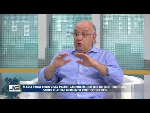 Maria Lydia entrevista Paulo Vannuchi, dir. do Instituto Lula, sobre o momento político do país