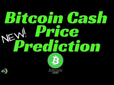 BITCOIN CASH PRICE PREDICTION (NEW) - HIGHER PRICES LIKELY?