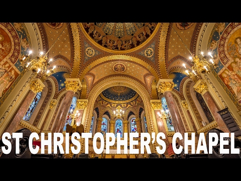 [Vlog] The Most Delightful Chapel in London and it's Hidden inside a Hospital!
