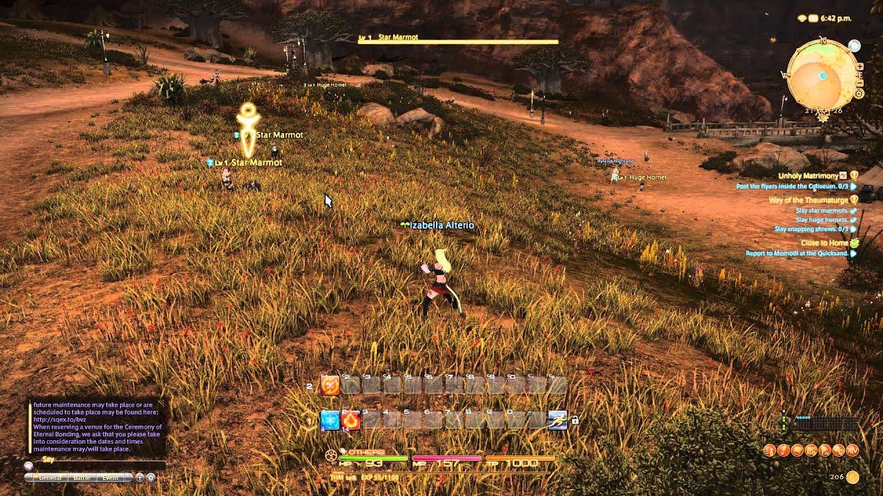 Final Fantasy XIV Shadow Flickering
