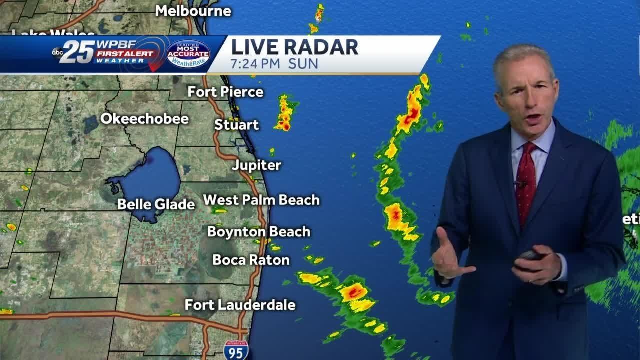 8 p m  Hurricane Dorian advisory Sunday