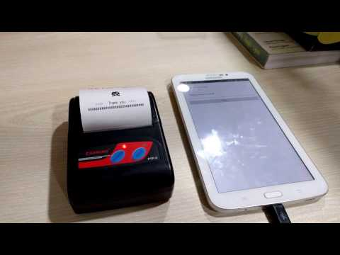 Open Source] Thermal Printer in Android | Cashino PTP-II | Github