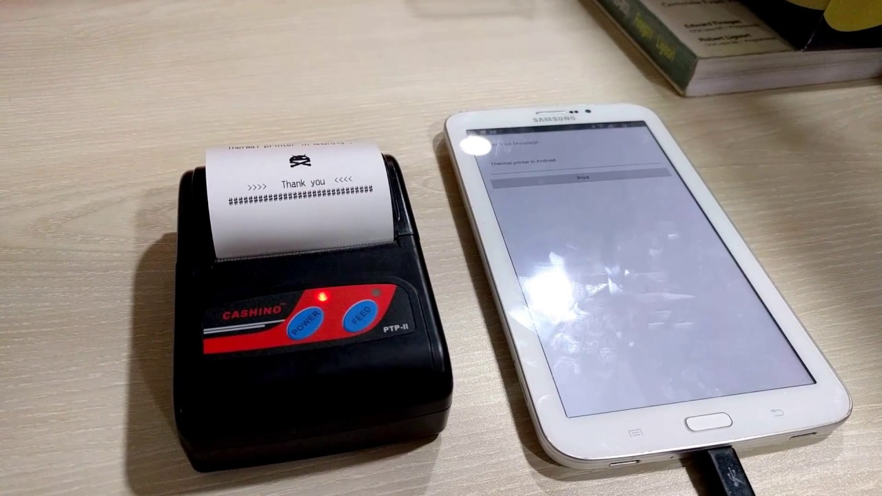 [Open Source] Thermal Printer in Android | Cashino PTP-II | Github source  code