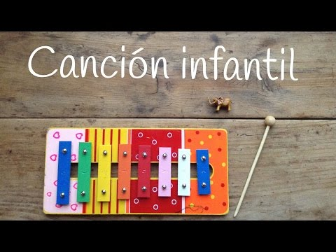 Canciones infantiles con xilófono, descubre qué fácil es tocar una canción de cuna