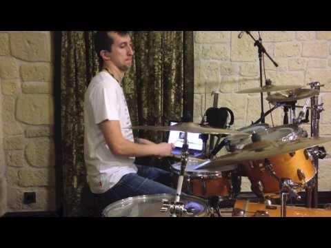 Клубняк на барабанах от (romario drum cover)