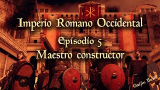 Attila Total War - Campaña Imperio Romano Occidental - 5 - Maestro constructor