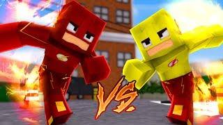 Minecraft: HERÓIS PVP - FLASH vs KID FLASH!