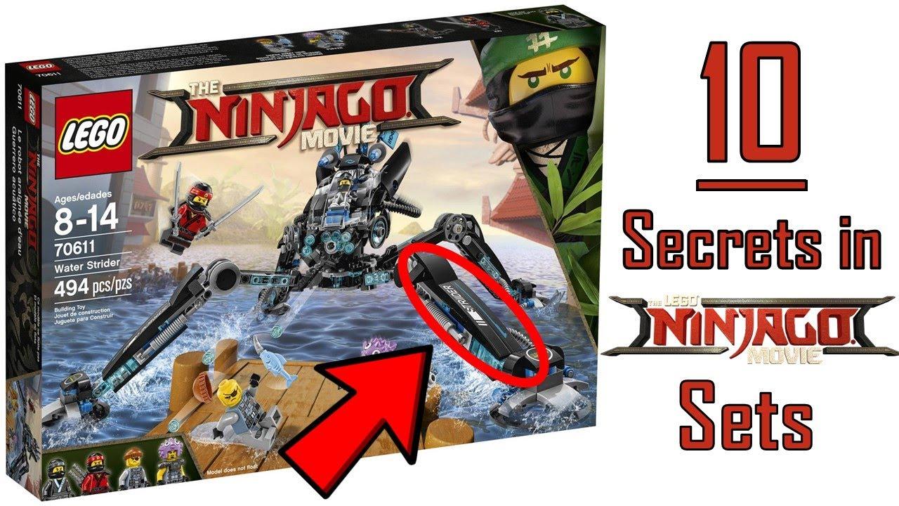 10 Hidden Secrets In The Lego Ninjago Movie Sets Youtube