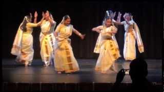 Kaikotti Kali (Kerala Folk Dance) - TFA Navarathri 2012