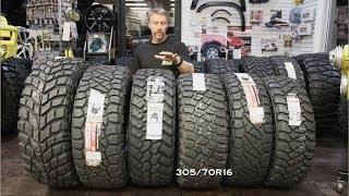 """Off-Road Tire Size Comp: 285 vs 295 vs 305 vs 315 vs 37"""""""