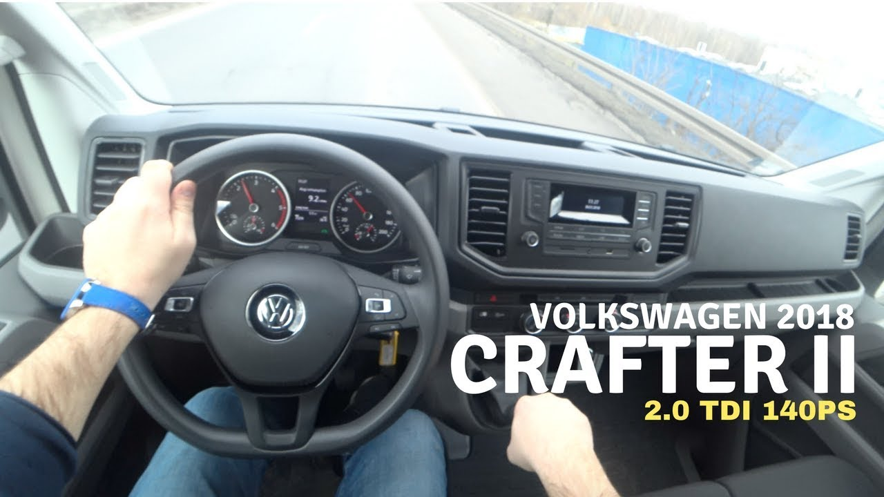 new volkswagen crafter 2 0 tdi 140 2018 4k pov test drive 037 joe black youtube. Black Bedroom Furniture Sets. Home Design Ideas