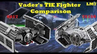 Repeat youtube video Lego Star Wars Comparisons - LEGO Star Wars Vader's TIE Advanced Comparison [8017 & 75150]